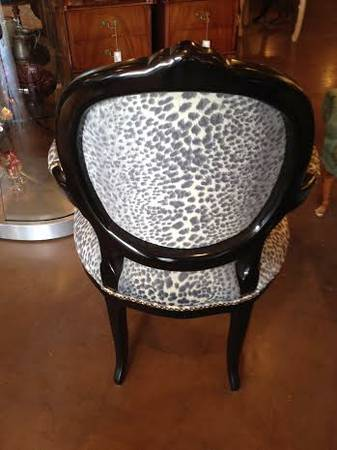 nene unique leopard print chairs 2 by century chair co of